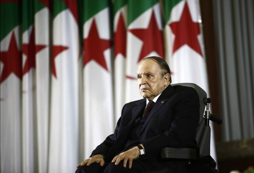 Le président algérien Abdelaziz Bouteflika en avril 2014