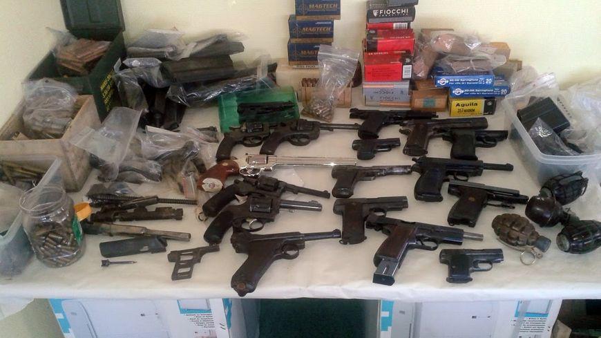 Des armes saisies chez un particulier à Angoulème