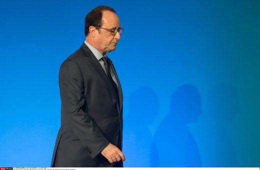 François Hollande, le 6 avril 2016
