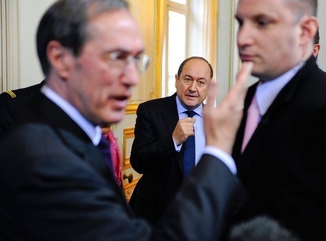 Bernard Squarcini, au centre de la photo, a été perquisitionné ce vendredi 8 avril.