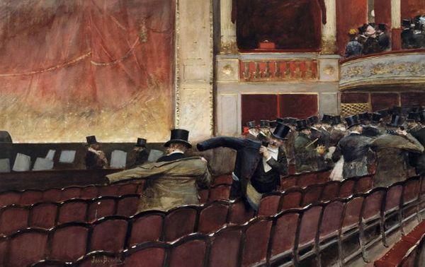 Jean Béraud, La sortie de Théâtre