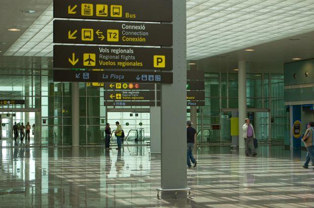 Aéroport espagnol