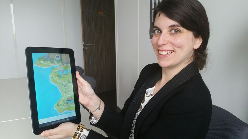 Alexandra Struk a conçu le jeu vidéo Tsara consacré à l'autisme.