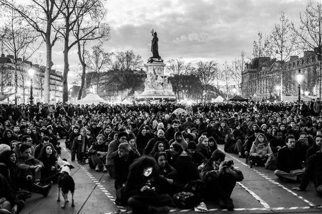 La Nuit Debout, 8 avril 2016
