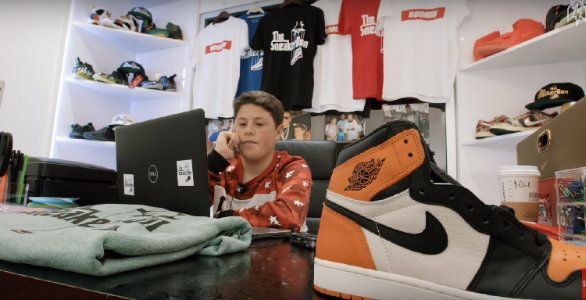 The Sneaker Don : à 16 ans, il deale des sneakers aux stars