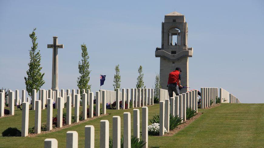 Journée de l'Anzac Day à Villers-Bretonneux dans la Somme