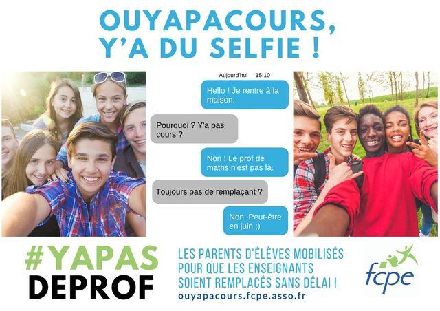 Les selfies de la FCPE
