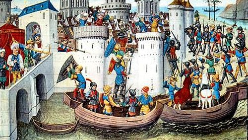 Les croisades de 1204
