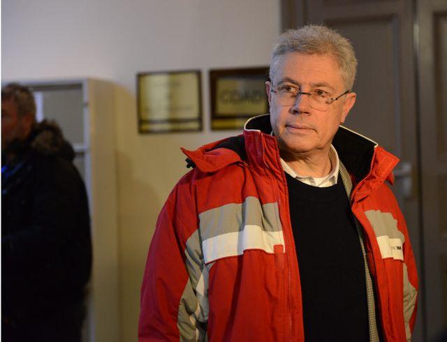 Luc Fournié comparaît devant les assises du Tarn le 14 décembre 2009.