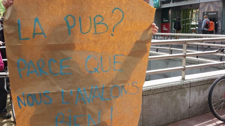Les anti-pub sont très actifs à Toulouse.