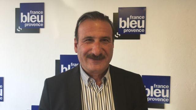 Hervé Ghevontian ce lundi en direct sur France Bleu Provence