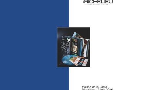 Photo - montage affiche vente aux enchères vinyles MEA 603*380