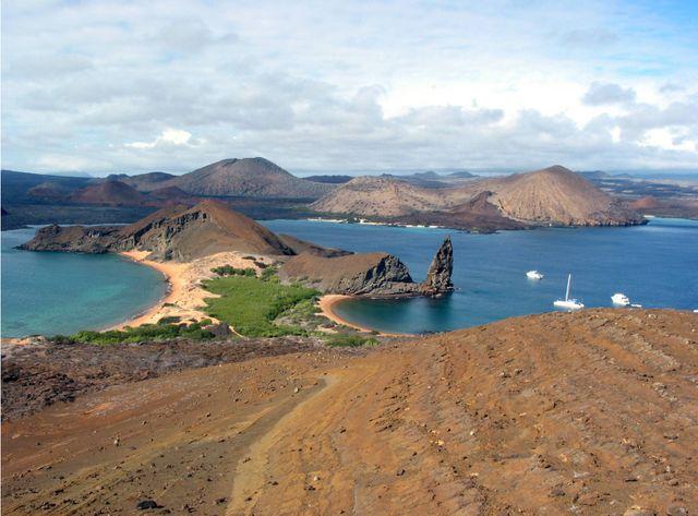 Amérique latine : la biodiversité en danger, une île des Galapagos.