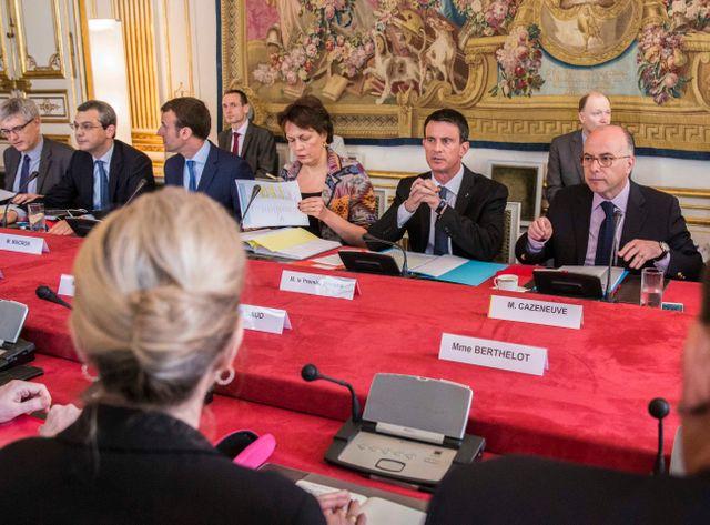 Manuel Valls et plusieurs ministres ont reçu ce samedi matin une vingtaine d'acteurs de la filière pétrolière
