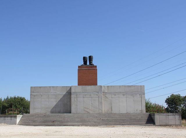 Mementopark Budapest - Bottes Staline