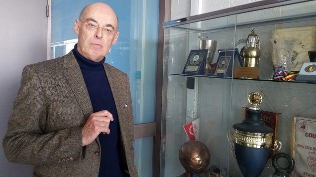 Edward Van Daele, président du club de Mouscron