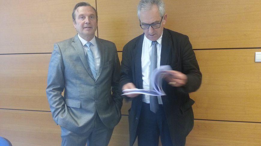 Jean-Loup Durousset et Charles Demouge