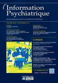 L'Information psychiatrique n°90