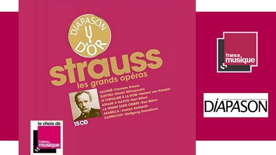 La Discothèque idéale de Diapason vol. VII : sept opéras de STRAUSS