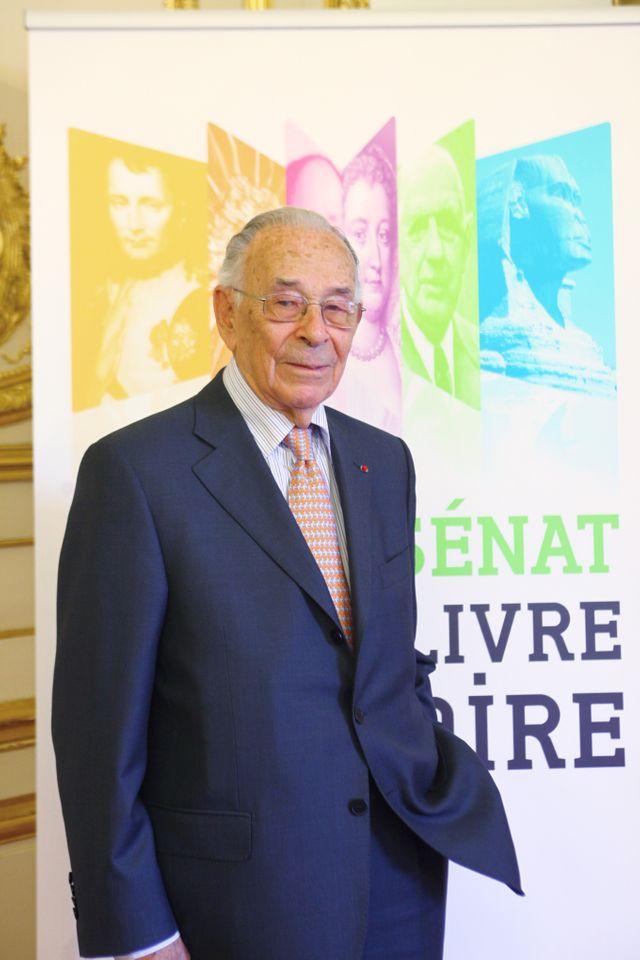 Jean-Louis Crémieux-Brilhac au Sénat en 2010