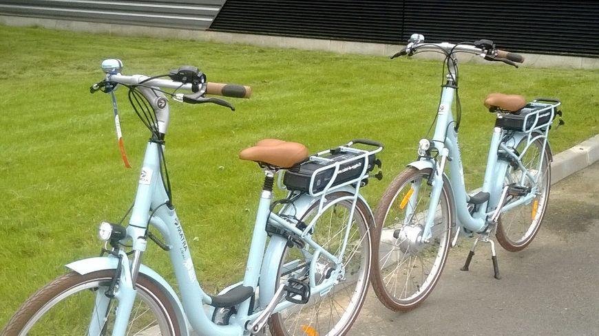 Les nouveaux vélos électriques de Saint-Lô