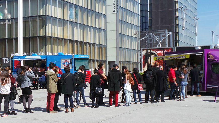 Le succès des food trucks