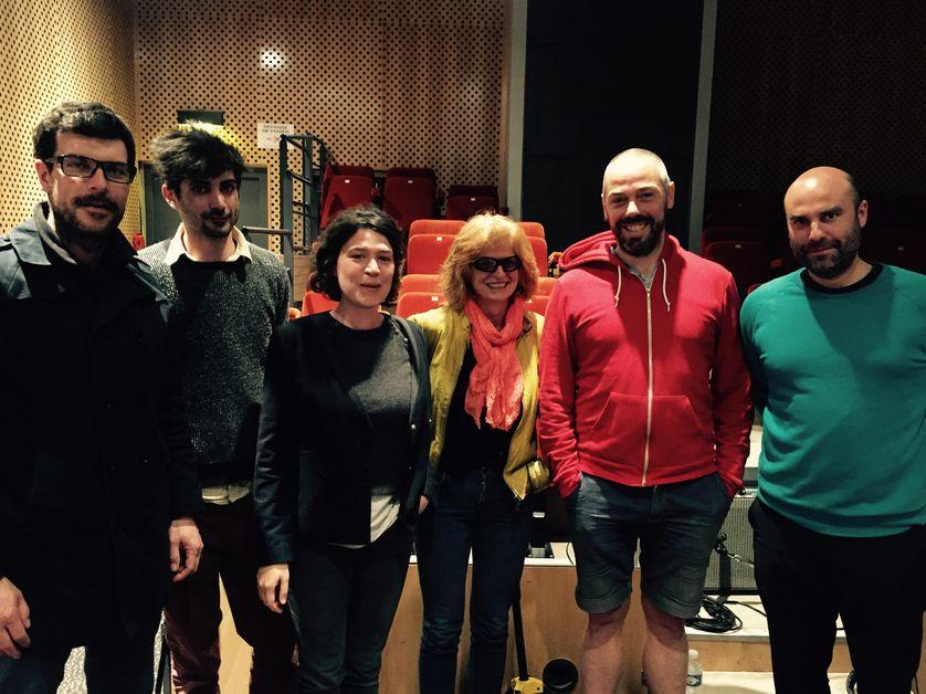 Christophe Paou, Lucas Delangle, Judith Fraggi, Claire Simon, Gilles, YOM