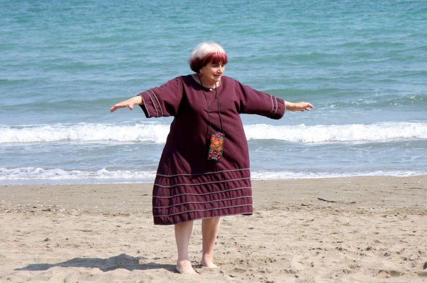 Agnès Varda en 2008.
