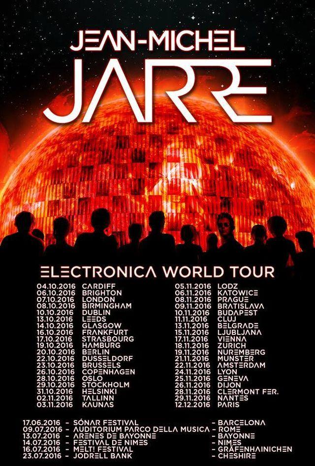 Jean-Michel Jarre en tournée