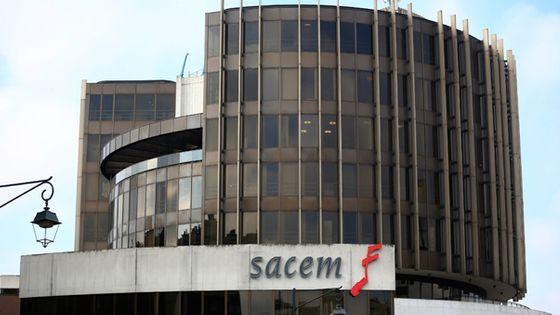 Les locaux de la Sacem se situent dans l'ouest parisien, face à la Défense ©VincentIsore/Maxppp