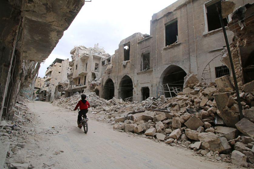 Alep, la vieille ville, mai 2015