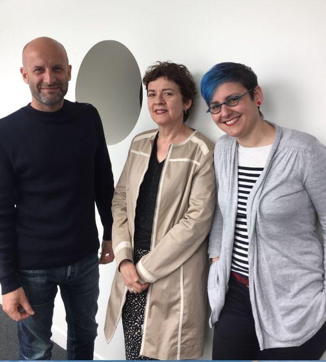 Brigitte Patient, Gautier Deblonde et Susana Gallego Cuesta