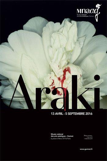 Exposition Araki du 13 avril au 5 septembre 2016