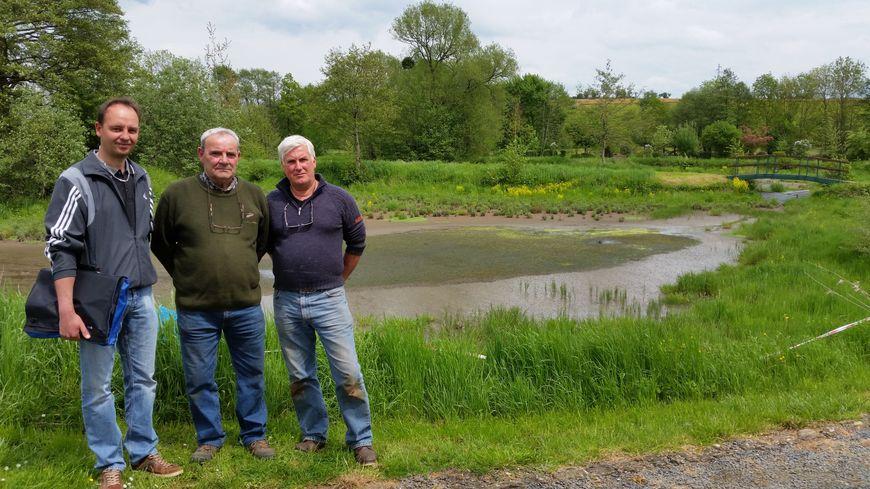 Pêcheurs et élus veulent sauver les étangs d'Osnes