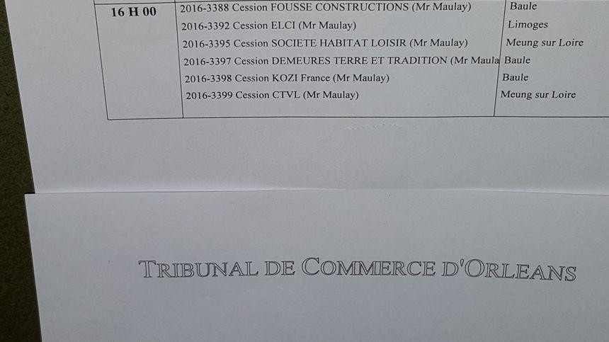 Claude Fousse devait céder 6 de ses sociétés
