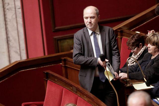 Denis Baupin à l'Assemblée Nationale, décembre 2014