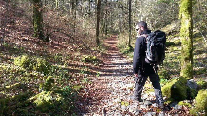 Damien Lecouvrey dans la nature