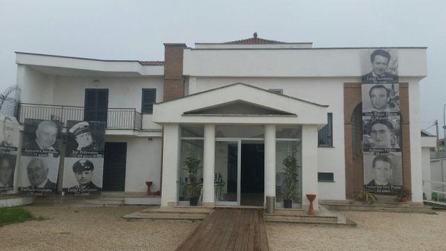 Villa Diana confisquée à la mafia et transformée en musée
