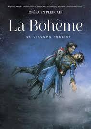 """Opéra en plein air """"la bohème"""""""