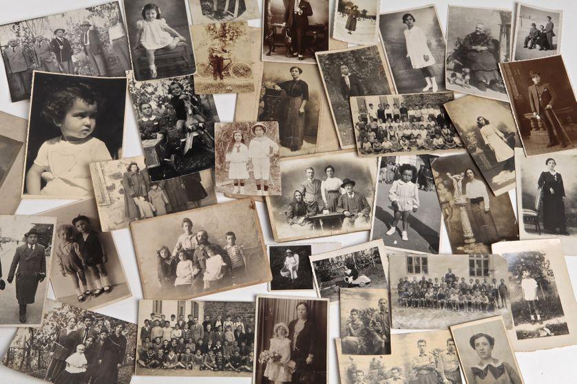 Photos familles noir & blanc
