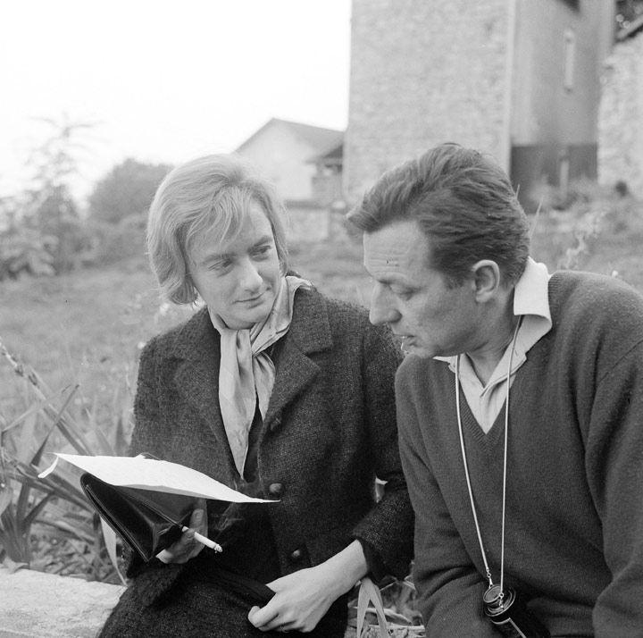 Françoise Sagan et Claude Barma