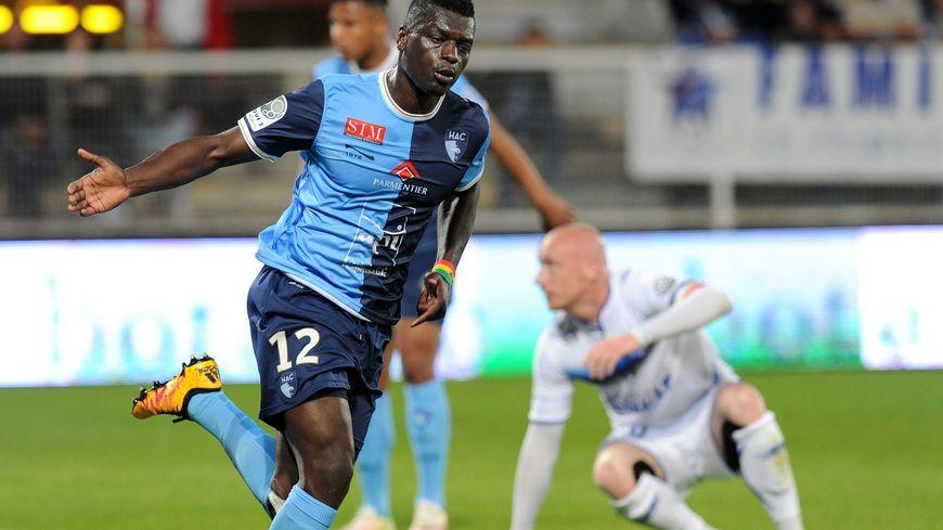 Joseph Mendes, auteur d'un doublé contre l'AJ Auxerre