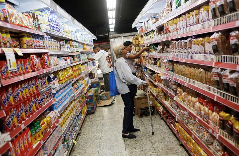 Supermarché à Rio de Janeiro
