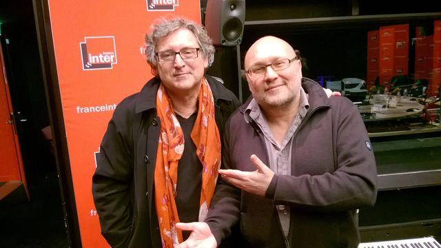 Michel Onfray et Patrick Fremaux