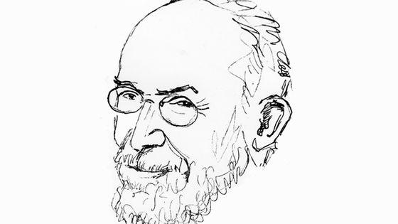 Erik Satie, by Picabia © Photo 12 / Contributeur