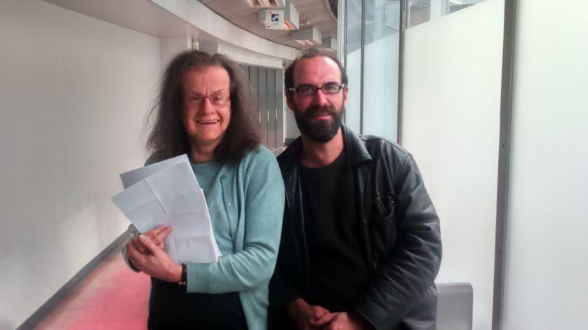 Hélène Hazera et Erwan Pinard