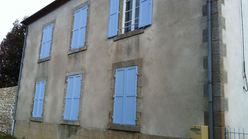 Cominor louait le rez-de-chaussée de cette maison à Gouzon