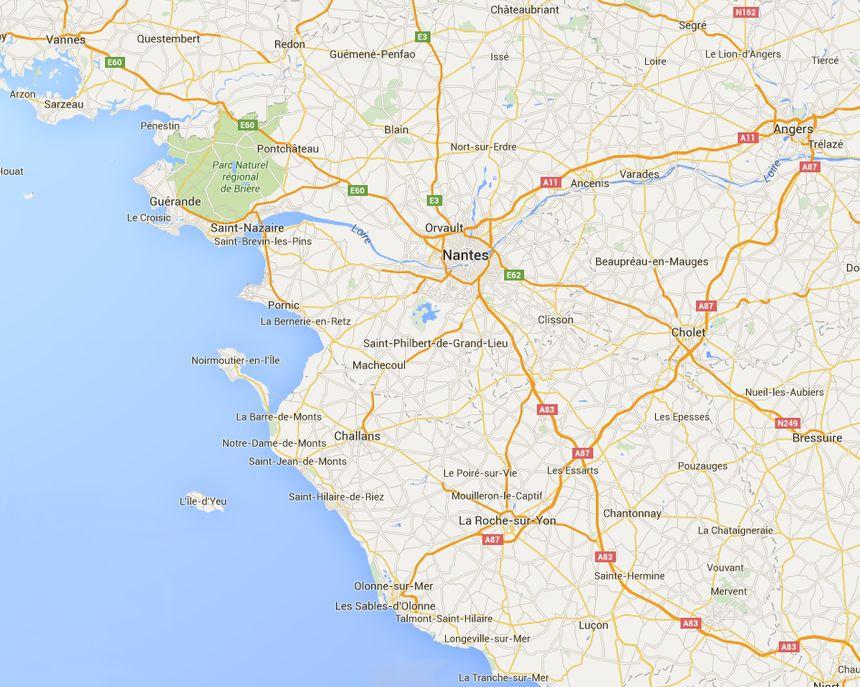 Google Map nos départements