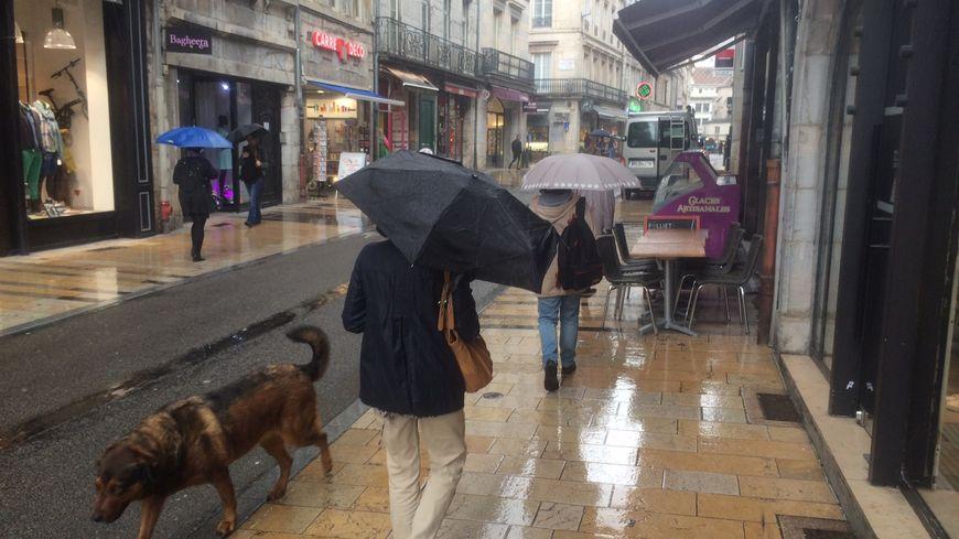 Il n'avait pas plu autant à Besançon depuis 1983