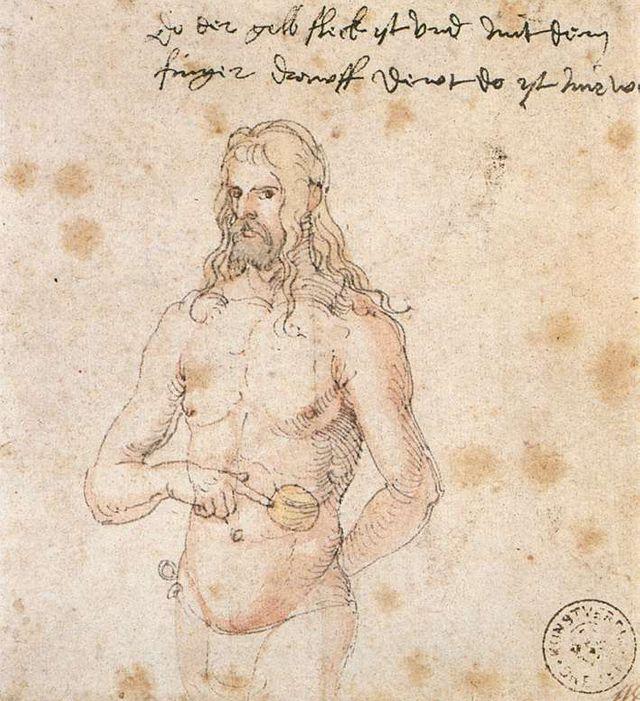 L'autoportrait qu'Albrecht Dürer envoya à son médecin pour un diagnostic